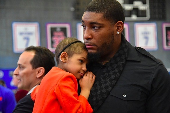 NFL Player Asks for Prayers for Daughter After 'Pretty Serious Complication' in Her Cancer Battle