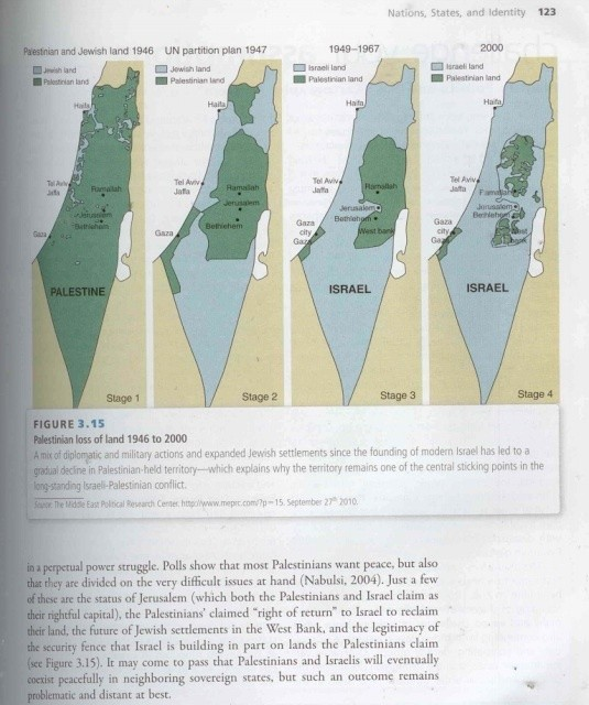 College Politics Textbook Includes Debunked Israel-Palestine 'Map That Lies' — and Publisher Responds