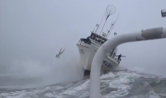 Keep an Eye on the Left Side of This Boat — Someone's World Is About to Get Rocked