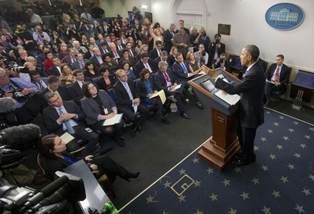 'Revolving Door': More Than Two Dozen Journalists Have Joined the Obama Administration, but Is It Really Anything New?