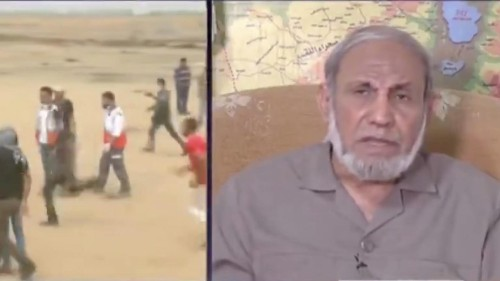A senior Hamas official admits what the media is denying about Palestinian 'protesters'