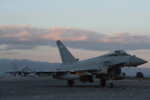 British Air Force Fighters Intercept Russian Bombers Nearing U.K. Airspace