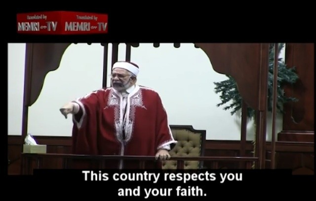 Muslim Cleric Heaps Praise on U.S., Tells American Muslims They Have a Special Role