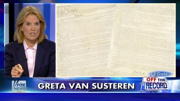 Fox News Host Greta Van Susteren Gives Obama a Blistering 'Refresher' on the Constitution