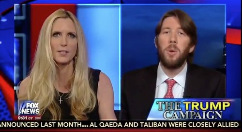 National Review Reporter Confronts Coulter, Hannity on Support for Trump: 'I Am Just Astonished'