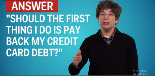Former Hedge Fund Manager's Controversial Advice: 'Don't Pay Back Your Credit Card Debt'