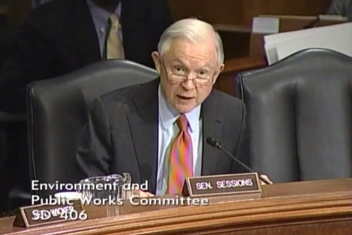 Listen to Answer Senator Gets When He Asks Obama's EPA Chief If Climate Change Temperature Models Have Been Accurate