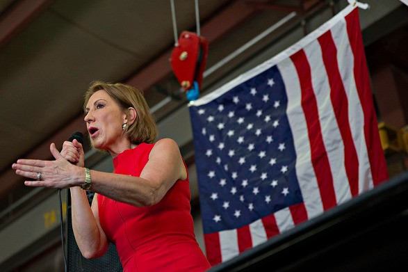 Carly Fiorina: Planned Parenthood 'Pushing Women Into Late-Term Abortions So They Can More Successfully Harvest Body Parts'