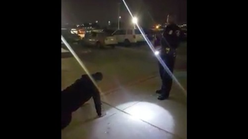 Cop lets teen do push-ups instead of jail time for smoking pot