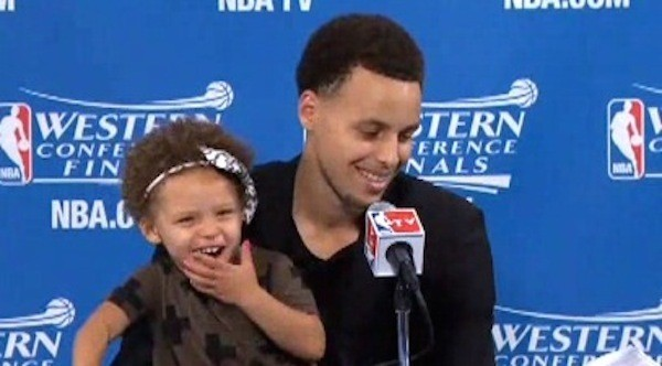 He Might Be the MVP, but It's His Daughter Who Stole the Show Last Night