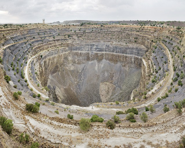 'For What It's Worth' This Is What a Diamond Mine Looks Like Compared to the Precious Stones Taken From It