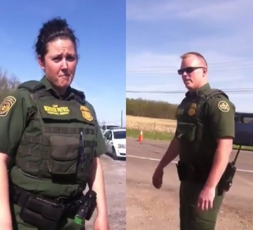 'What Are You Gonna Do, You Gonna Arrest Me?': Woman Challenges Border Patrol and Gets Completely Shocked by Their Response