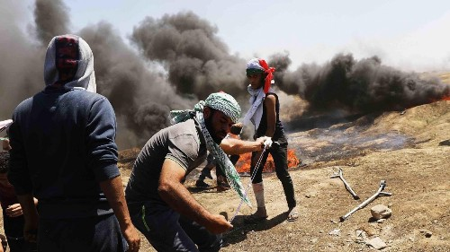 Here's why Israel used lethal force during mass protests in Gaza Monday
