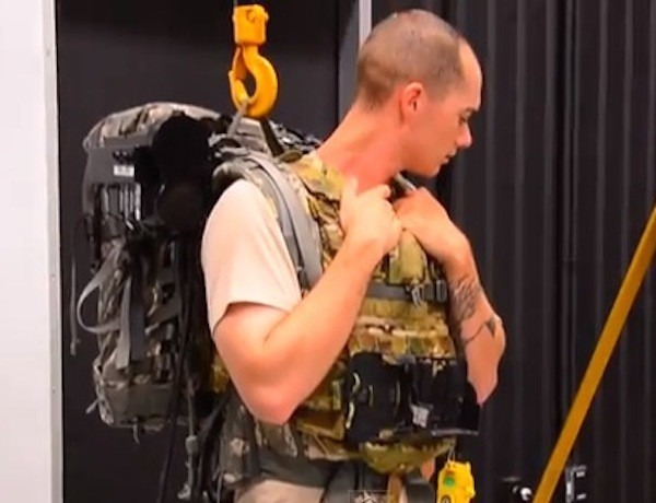 Soldier Finds Out What It's Like to Wear One of Those Load-Bearing Exoskeletons: 'It's Like a Rubber Band'