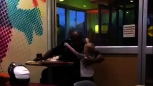 Watch: Fort Worth police officer shares touching moment with a little fan