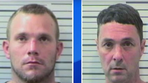Crooks rob elderly homeowner, drive getaway car right at him. But victim has gun—and makes one pay.
