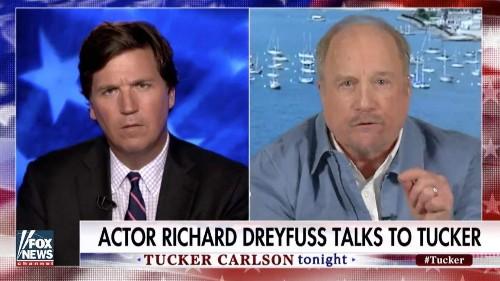 See the astonishing reason actor Richard Dreyfuss left Tucker Carlson absolutely speechless