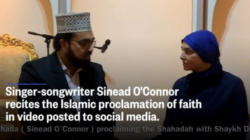 After converting to Islam, Sinead O'Connor blasts whites: 'What I'm about to say is something so racist'
