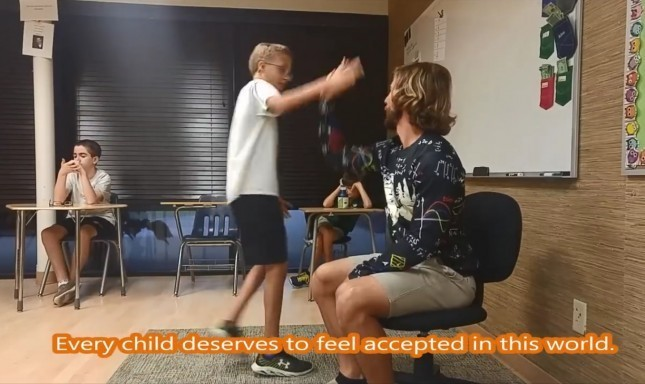 Video of What a Special-Ed Teacher Does at the Start of Each School Day Is Exactly What You Need to Watch Right Now