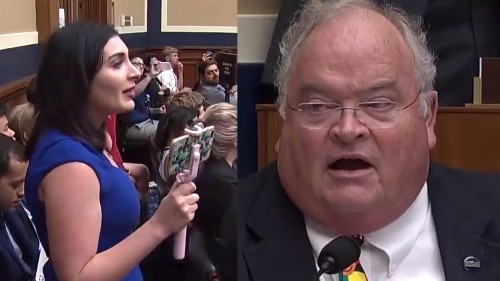 Republican congressman has a hilarious response to protester, and it has gone viral