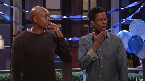 Watch: Dave Chappelle and Chris Rock skewer liberals' reaction over Trump's win on 'SNL'