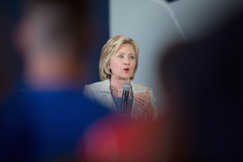 Hillary Clinton Launches Global Warming Push, Then Gets Caught on Video in Conspicuous Act
