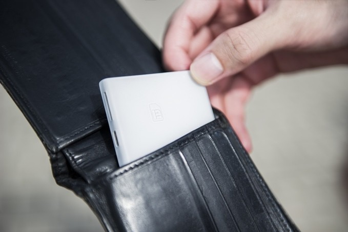 New Device That Slips Into Your Wallet Can Eliminate a Need for You to Carry Both Your Work and Personal Phones