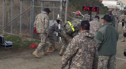 Viral Video Shows U.S. Soldier Refuse to Give Up, Complete Grueling 12-Mile Foot March