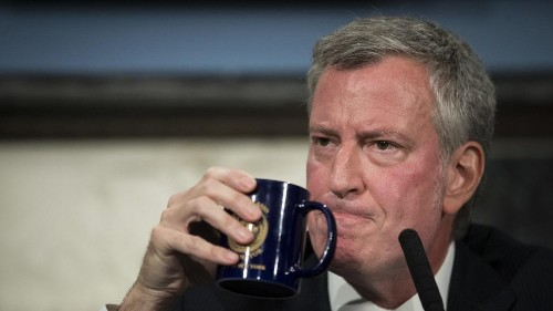 NYC Mayor de Blasio used the city's only counterterrorism plane as his private shuttle