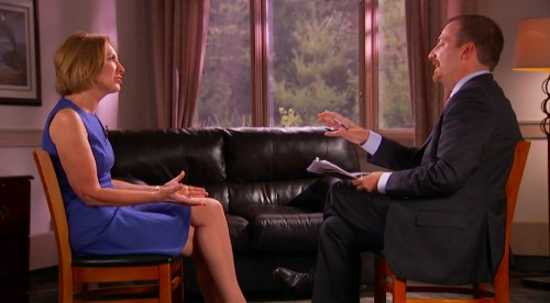 Carly Fiorina Says She Owes Hillary Clinton a 'Debt of Gratitude'
