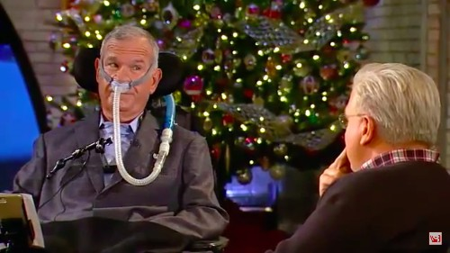 Man Battling ALS Tells Glenn Beck Why He'd Rather Live With the Devastating Disease Than Return to a Life Without It
