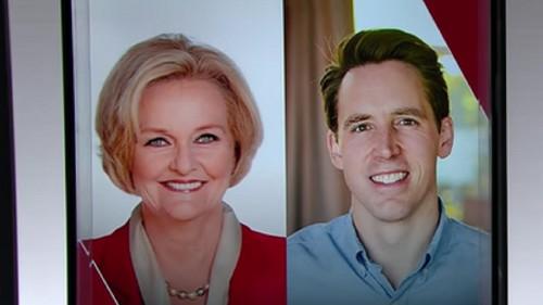 MO-Sen: Republican Josh Hawley topples Democratic Sen. Claire McCaskill in hard-fought race
