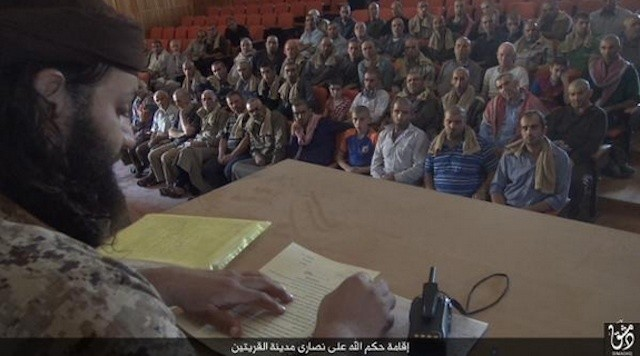 Read the Contract the Islamic State Group Is Forcing Christians to Sign in Syria