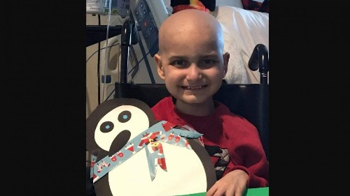 A terminally ill 9-year-old with cancer wants a present from you this Christmas season