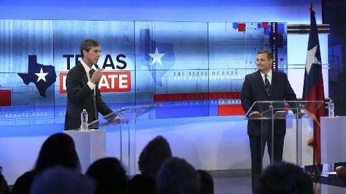 TX-Sen: Second debate highlights stark differences between incumbent Sen. Ted Cruz and Beto O'Rourke