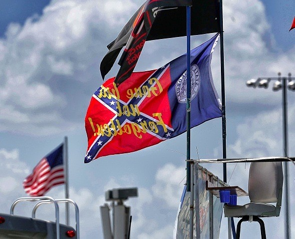 Remember NASCAR's Denunciation of the Confederate Flag? Daytona Fans Have Answered Back in Droves