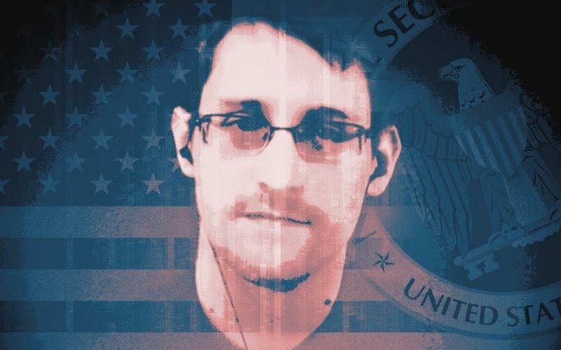 Snowden - Magazine cover