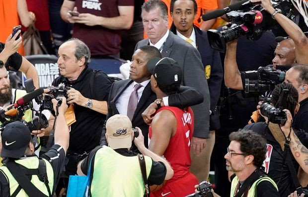 Alameda County Sheriff's Office will recommend battery charge for Raptors president Masai Ujiri