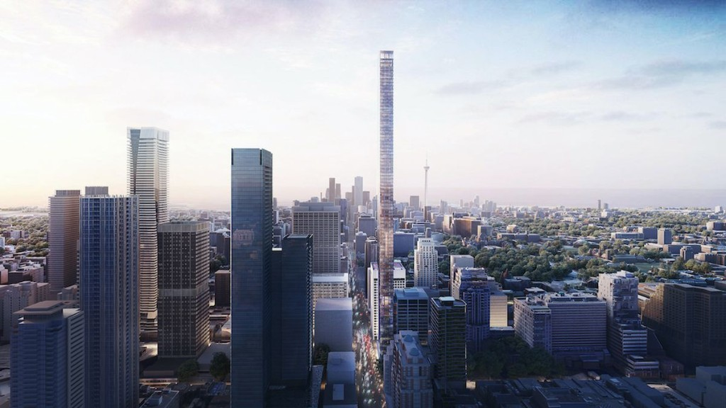 Tall and thin, proposed tower good fit for evolving Yorkville area