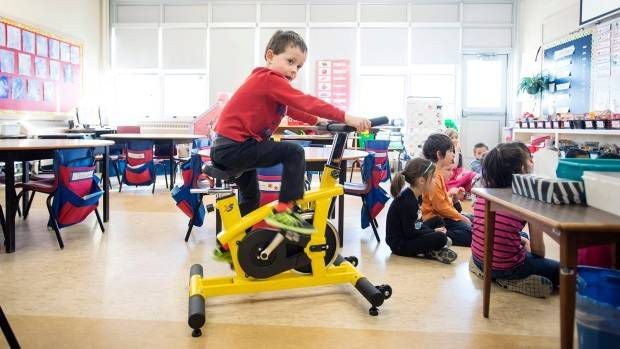 Stationary bikes in the classroom: Are we spinning out of control?