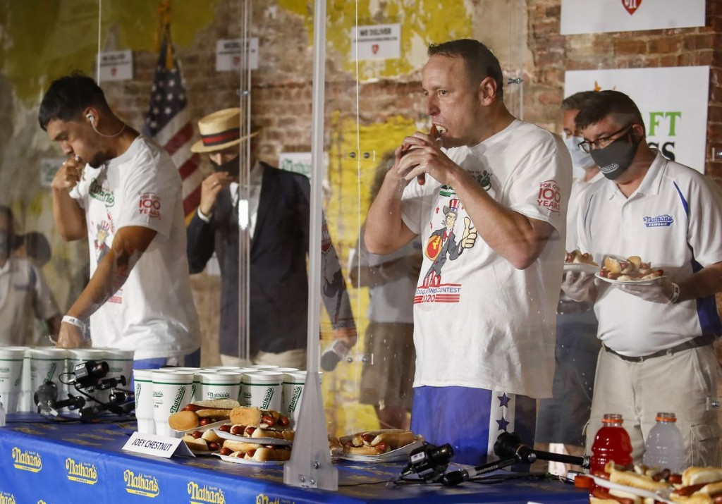 What competitive eating can tell us about our capacity to stretch human limits