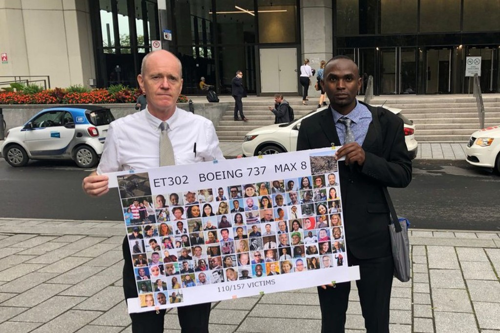 Families of 737 Max crash victims push Ottawa for closer scrutiny of Boeing jet