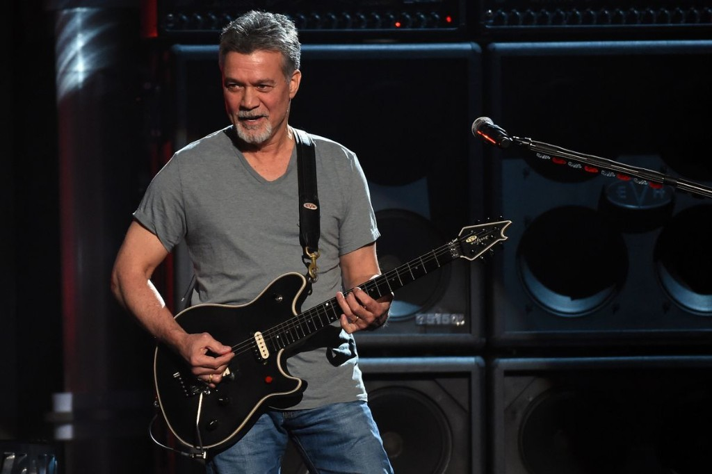 Two guitars played and partly designed by Eddie Van Halen to go up for auction