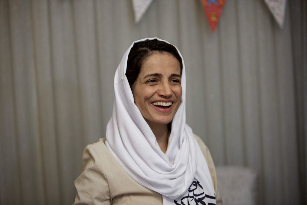 Opinion: Canada should name and shame the Iranian leaders repressing human-rights advocates like Nasrin Sotoudeh
