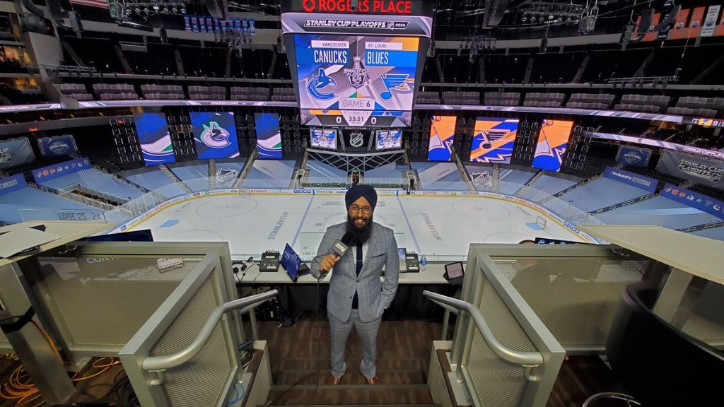 Prairie boy Harnarayan Singh becomes leading voice in hockey's racial reckoning