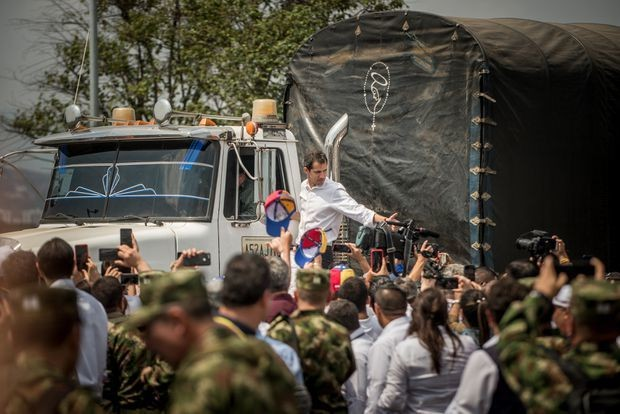 Footage contradicts U.S. claim that Maduro torched aid convoy