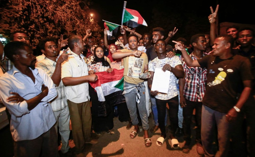 'The revolution has just started': Protesters defy curfew imposed by Sudan's new military rulers
