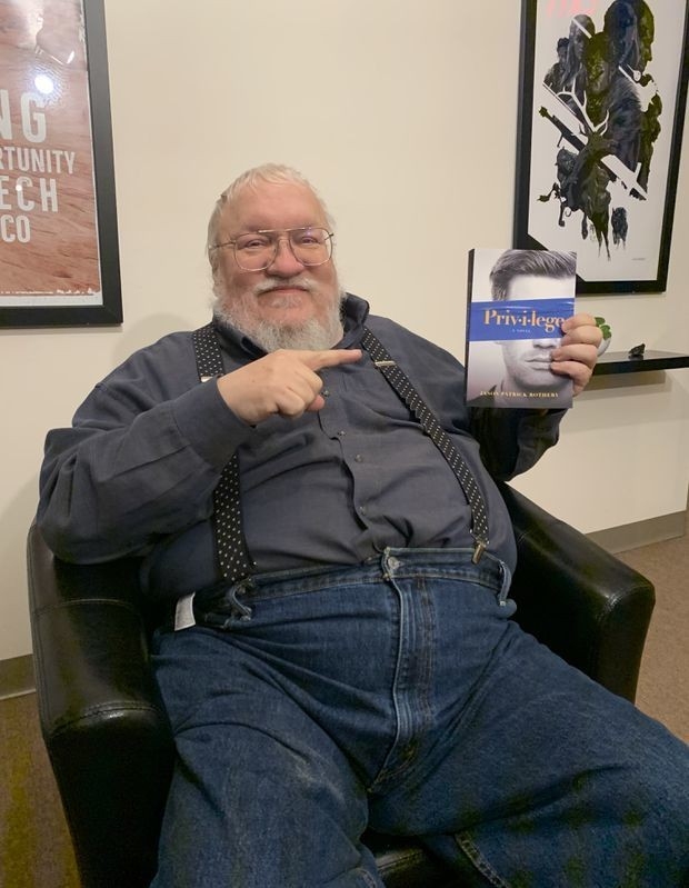 How first-time novelist Jason Rothery landed an endorsement from George R.R. Martin