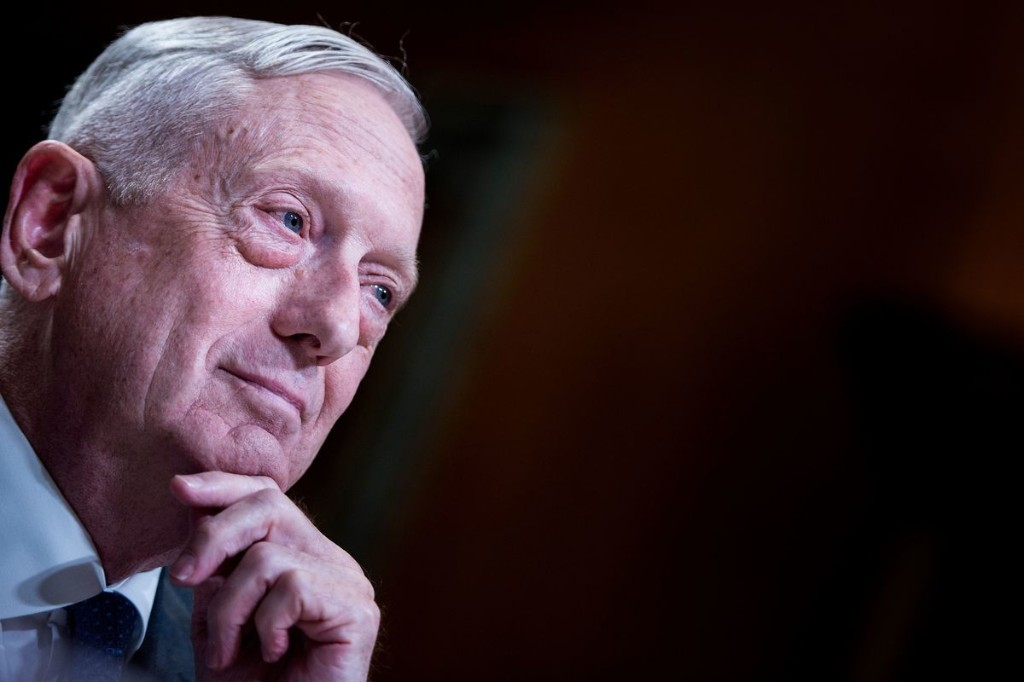 Opinion: If James Mattis is afraid, the rest of us should be too