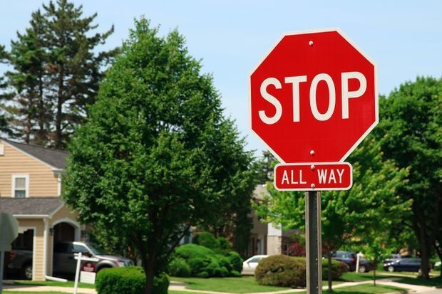 If I have the right of way at a four-way stop, why's the other car going first?